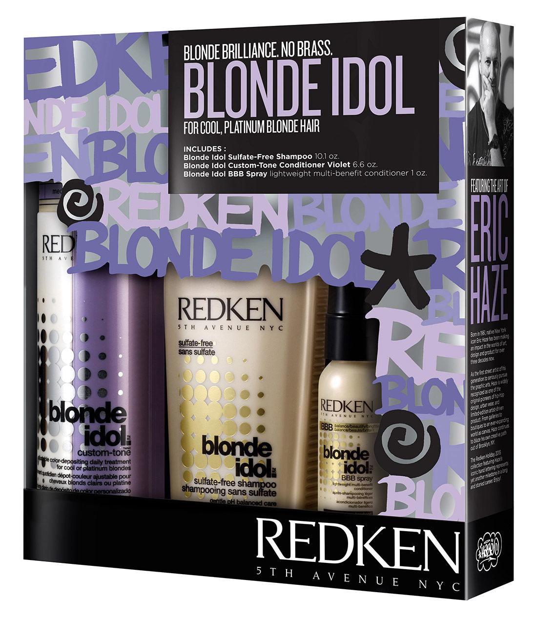 Eric Haze Redken Blonde Idol