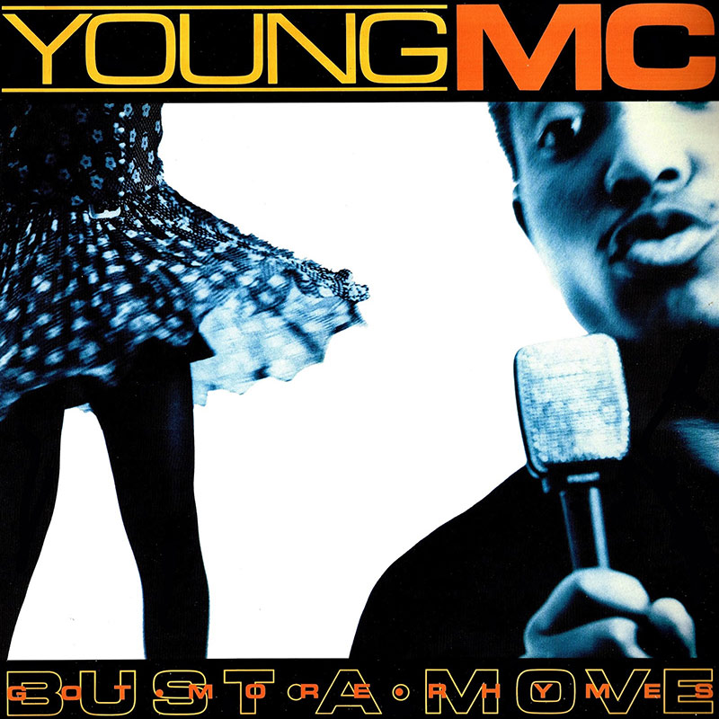 Eric Haze Young MC bust a move cover
