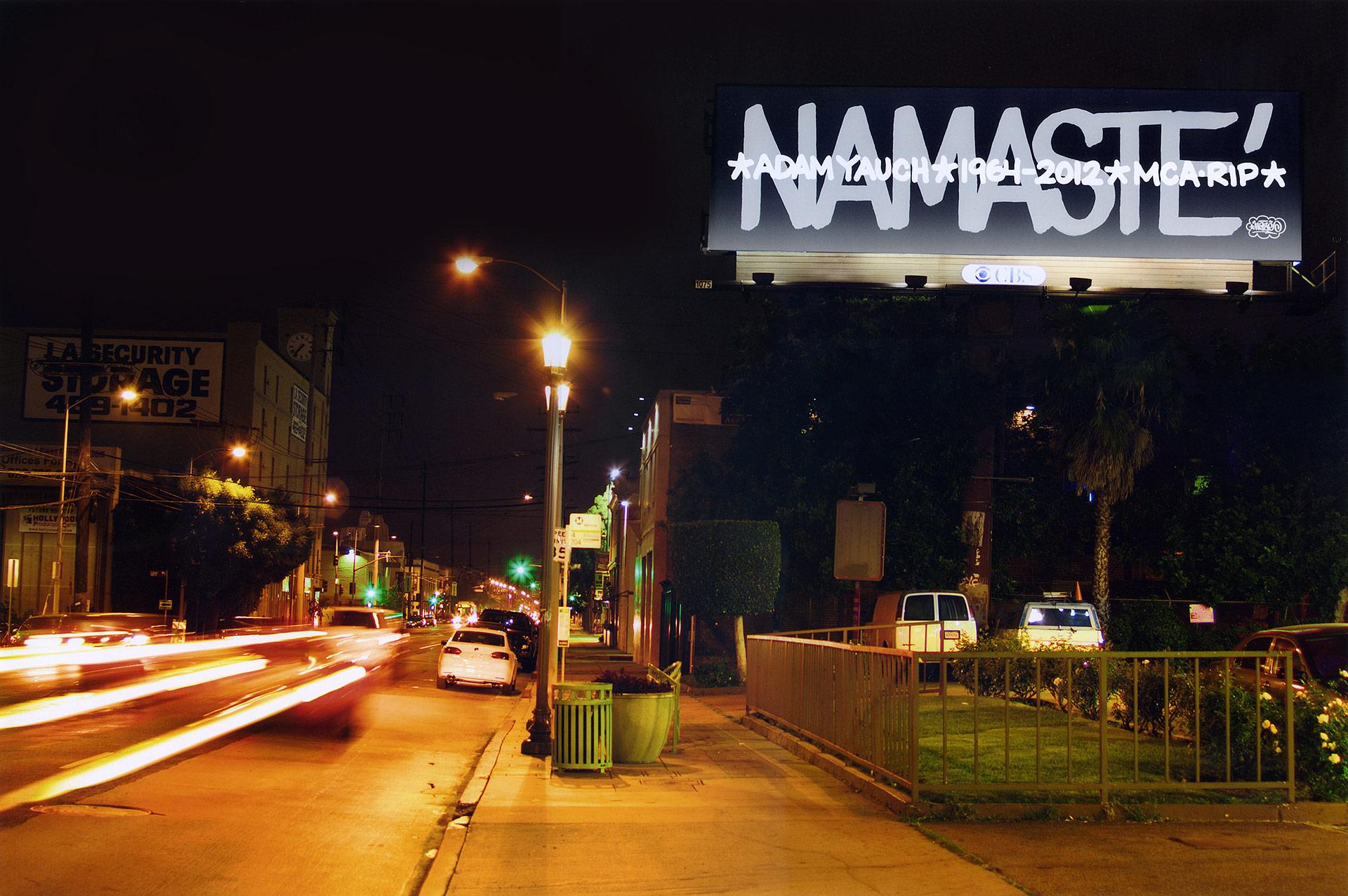 Eric Haze Namaste Billboard MCA