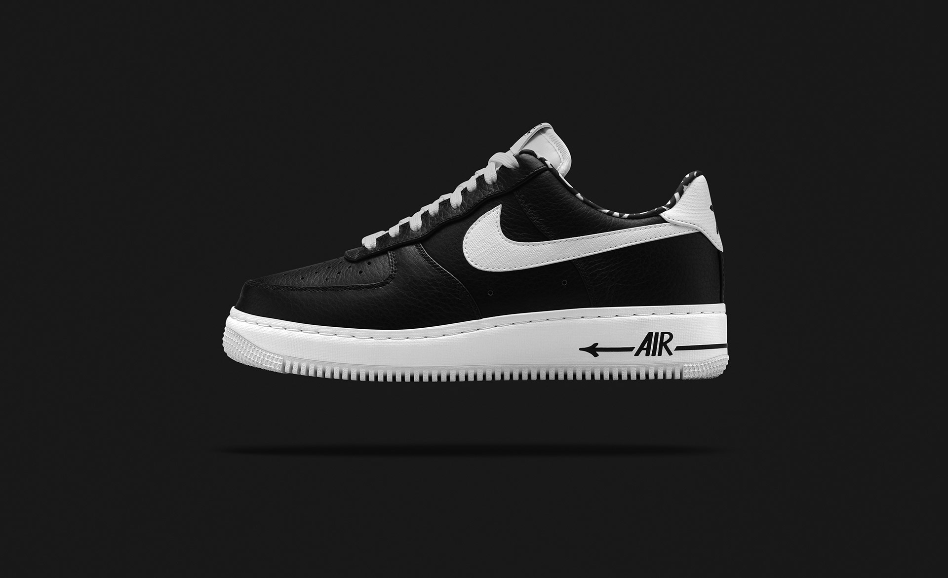 Eric Haze Nike Air Force 1 blackbooks