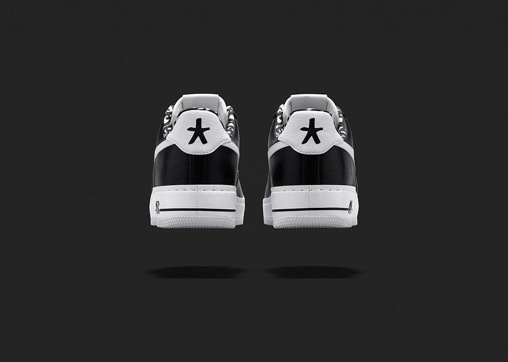 Eric Haze Nike Air Force 1 blackbooks star