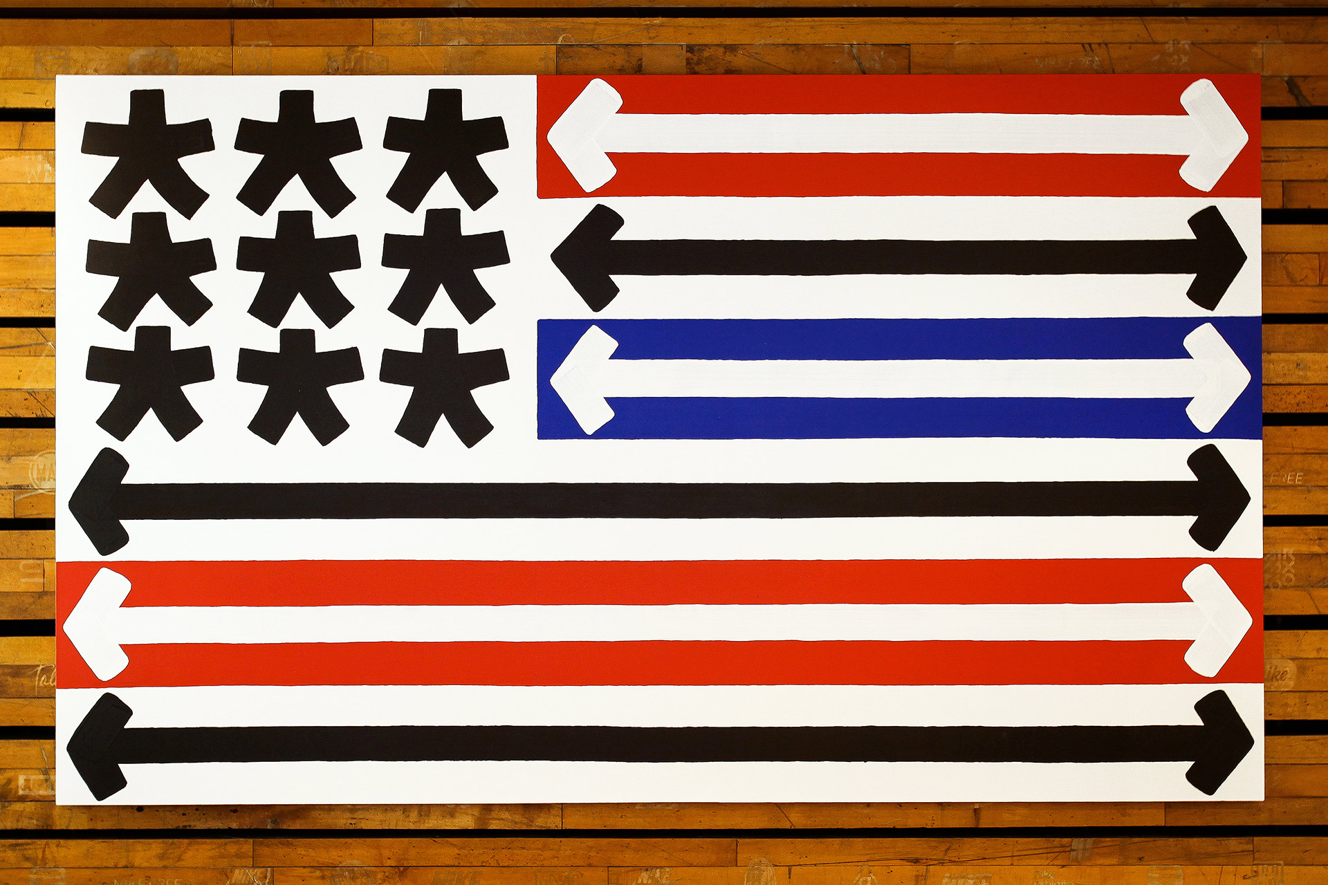 Eric Haze flag 2012 NYC