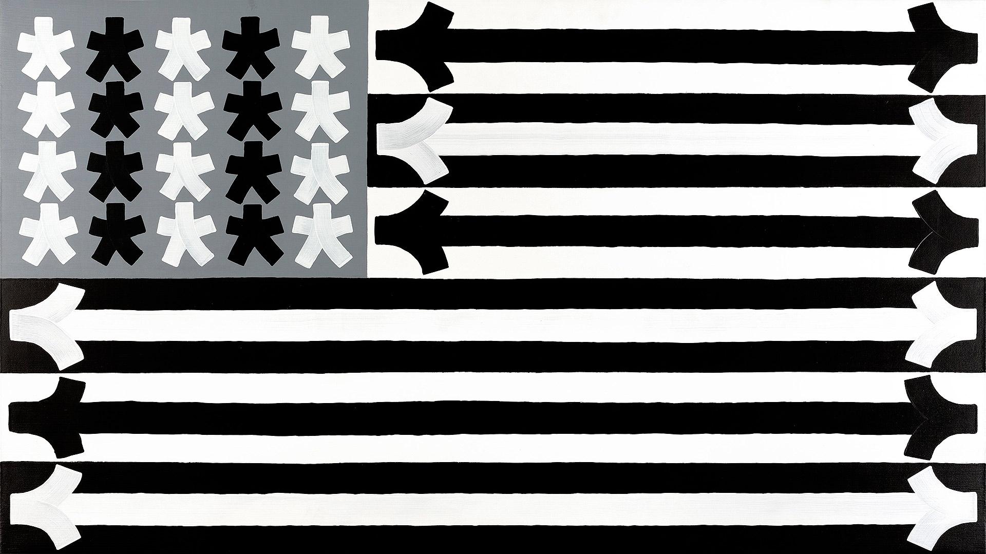 Eric Haze flag 2015 Paris