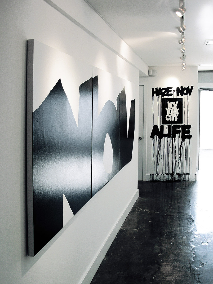 Eric Haze Alife front Nov York 2008